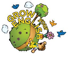 logo grow your english giochi inglese albero di momo