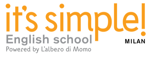 logo its simple milan english school albero momo